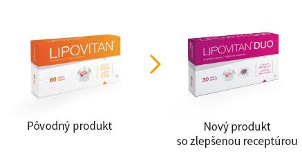 Lipovitan Classic a Duo